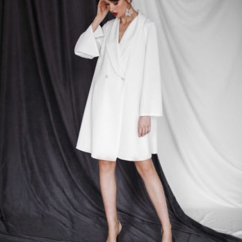 Свадебное платье-пиджак «Helena»