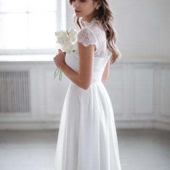 Свадебное платье «Nelly midi»