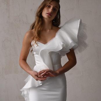 Свадебное платье «Amelie mini»